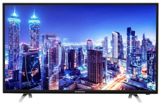 Телевизор LED 43 DAEWOO L43S790VNE черный 1920x1080 60 Гц Wi-Fi Smart TV VGA RJ-45