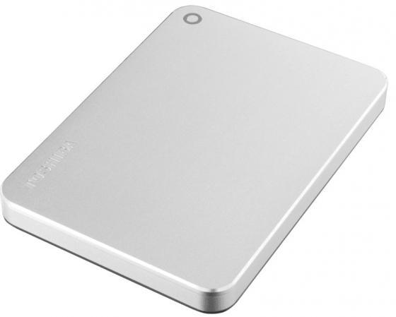 Внешний жесткий диск 2.5 USB 3.0 3Tb Toshiba Canvio Premium серебристый HDTW230ES3CA внешний жесткий диск 2 5 usb 3 0 3tb toshiba белый hdtp230ew3ca