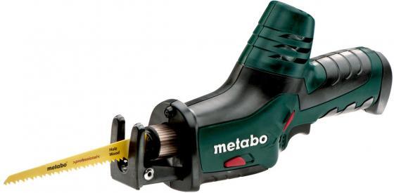 Аккумуляторная сабельная пила Metabo PowerMaxx ASE (602264890) аккумуляторная ножовка metabo powermaxx ase 10 8 602264890