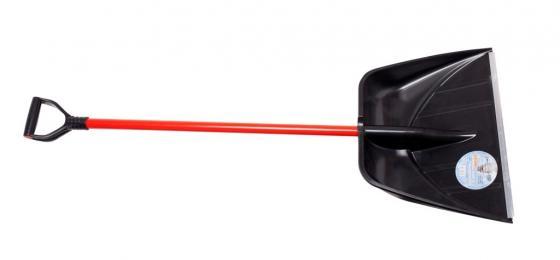 Лопата ЗЕМЛЕРОЙКА 0229-Профи для уборки снега шир. совка 555мм выс. 410мм алюминиевый черенок лопата землеройка 0223