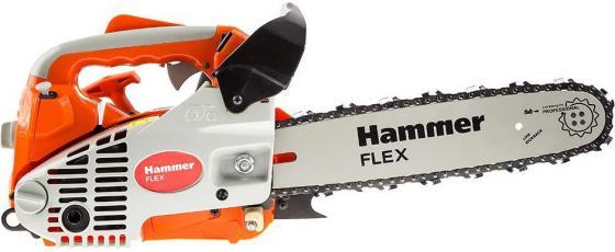 Бензопила Hammer Flex BPL2512B 1кВт, 25см3, шина 12 цепь 3/8-1.3мм-45