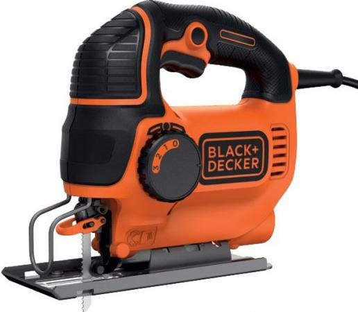 Лобзик BLACK & DECKER KS901PEK-XK 620Вт глуб.90мм рег.скор. маятник наклон подошвы 3пилки кейс babyinstar girls sweater cloak 2018 children cotton sweater coats turtleneck tassel cloak girls sweaters cape kids knit cardigan