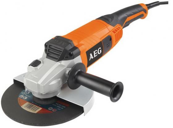 цена Углошлифовальная машина AEG WS 2200-230 DMS 230 мм 2200 Вт