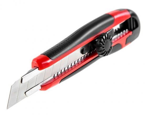 Нож строительный Hammer Flex 601-005 лезвия 18мм