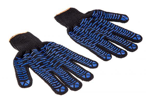 Перчатки Hammer Flex 230-019 ХБ с ПВХ покрытием, 5 нитей, черные, 5 пар шланг hammer 233 019