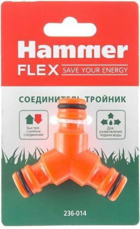 Соединитель Hammer Flex 236-014 тройник