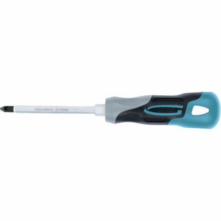 Отвертка GROSS 12159 PZ2 x 100 мм S2, трехкомпонентная ручка gross 20801