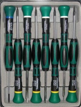 Набор отверток JONNESWAY D3750T18S 8 предметов, для точной механики набор отверток для точной механики gross 6 шт