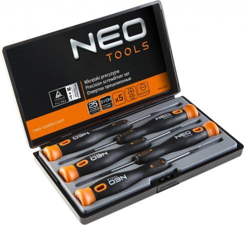 цена на Набор отверток NEO 04-225 для точной работы набор 5 шт.