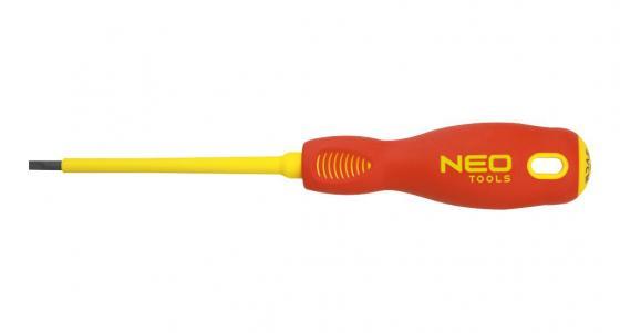 цена на Отвертка NEO 04-051 плоская 2.5x75мм 1000V, CrMo
