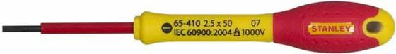 Отвертка STANLEY FATMAX 0-65-410 электрика 1000V 2.5*50мм цена