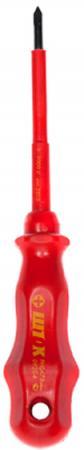 Отвертка SHTOK. 147332 крестовая ph1х100мм для электромонтажных работ 1000в 09205 диэлектрическая крестовая отвертка shtok 1000в ph3х150 мм 09308