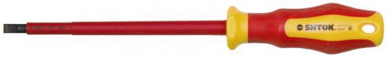 Отвертка SHTOK. 09202 1000в sl5.5x125мм диэлектрические боковые кусачки shtok 1000в 160 мм 08104
