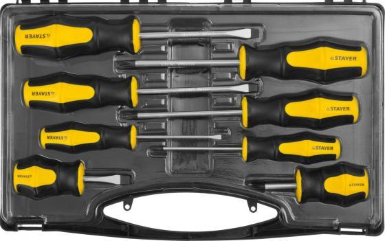 Набор STAYER MASTER HERCULES 25055-H8_z02 Cr-V. эргономичная двухкомпонентная рукоятка. 8шт набор отверток stayer 25055 h30