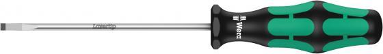 Отвертка WERA WE-110004 для винтов со шлицем набор отверток wera we 031575 для винтов с крестовым шлицем
