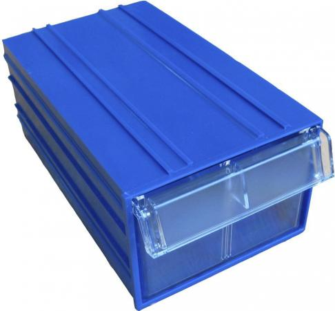 Короб СТЕЛЛА С-2 синий/ прозрачный пластик 140х250х100мм стойка стелла с1 00 09 00 синий
