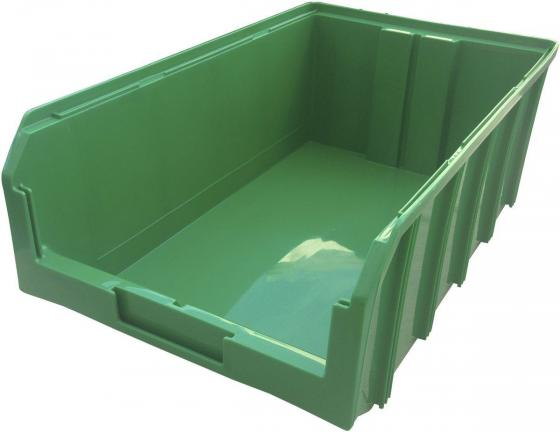Ящик СТЕЛЛА V-4, зеленый пластик 502х305х184мм цена