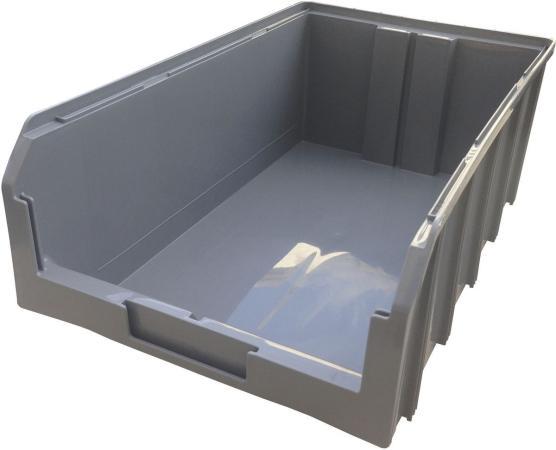 цена на Ящик СТЕЛЛА V-4, серый пластик 502х305х184мм