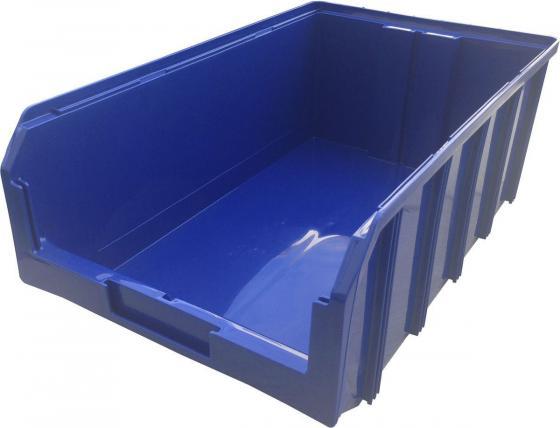 Ящик СТЕЛЛА V-4, синий пластик 502х305х184мм стойка стелла с1 00 09 00 синий
