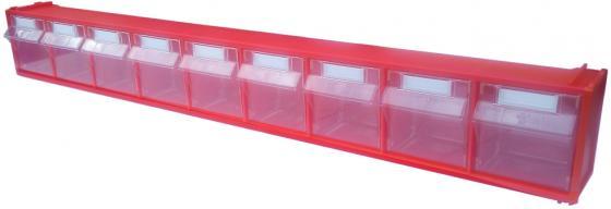 Короб СТЕЛЛА FOX-101 откидной красный/прозрачный 9ячеек откидной короб 9 ячеек красный прозрачный стелла fox 101