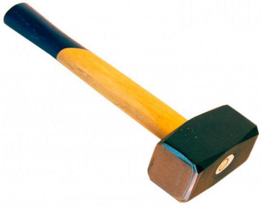 Кувалда SANTOOL 030821-200 2000г деревянная ручка