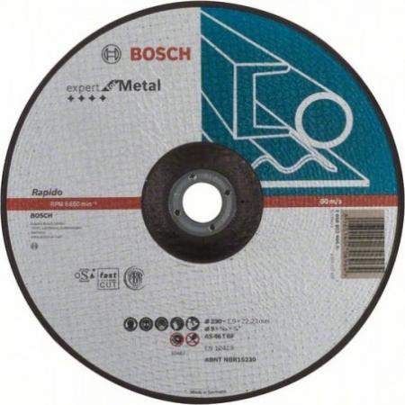 Круг отрезной BOSCH Expert for Metal 230x1,9x22 (2.608.603.400) по металлу круг отрезной bosch 115х2 5х22 expert for stone 2 608 600 320