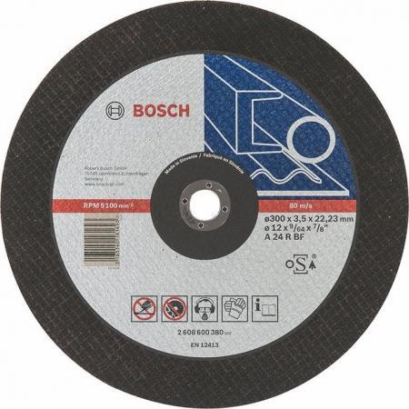 Круг отрезной BOSCH Expert for Metal 300x3,5x22 (2.608.600.380) по металлу круг отрезной bosch 115х2 5х22 expert for stone 2 608 600 320