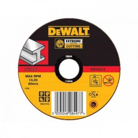 Круг отрезной DEWALT DT42200-XJ Ф115х22.2х1.6мм тип 1 по металлу все цены