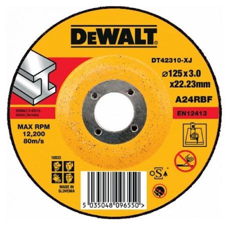 Круг отрезной DeWALT DT42310-XJ для УШМ 125х22.2х3.0мм тип 27 изогнутый по металлу крабы migura краб