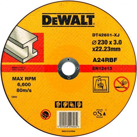 Круг отрезной DeWALT DT42601-XJ для УШМ 230х22.2х3.0мм тип 1 плоский по металлу все цены