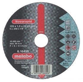 Круг отрезной METABO 616126000 ALU Flexiamant S 230x3.0мм прямой А30О по цветному металлу отрезной круг metabo flexiamant s 350x3x25 4 прямой a24m 616338000