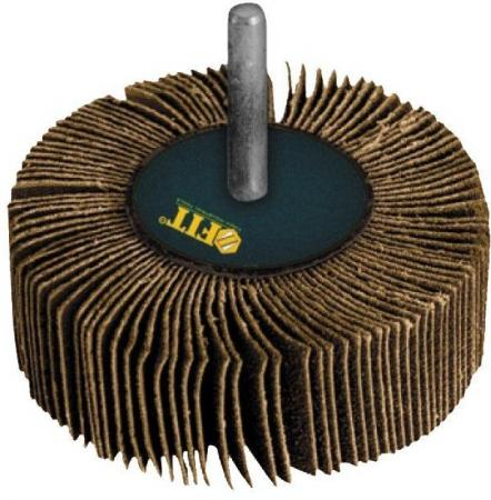 Круг Лепестковый Радиальный (КЛ) FIT 39594 для дрели 80 х 30 х 6мм ( р80 )
