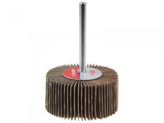 Шарошка ЗУБР 36604-060 МАСТЕР зерно-электрокорунд нормальный P60 40х80мм