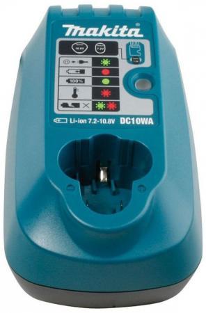 Зарядное устройство MAKITA 194588-1 7.2-10.8в 1.3ач li-ion dc10wa charger for makita li ion battery bl1830 bl1430 dc18rc dc18ra dc18rct 100 240v 50 60hz