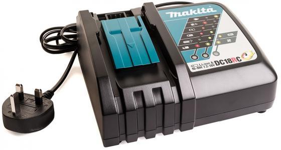 Зарядное устройство MAKITA DC18RC 7.2-18В Ni-Mh 14.4-18В Li-ion