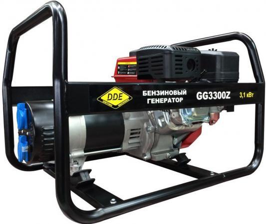 Генератор бензиновый DDE GG3300Z однофазн.ном/макс. 2,8/3.1 кВт (DDE UP170, т/бак 3.6л, ручн/ст, 42к бензиновый генератор инверторного типа dde dpg1001si