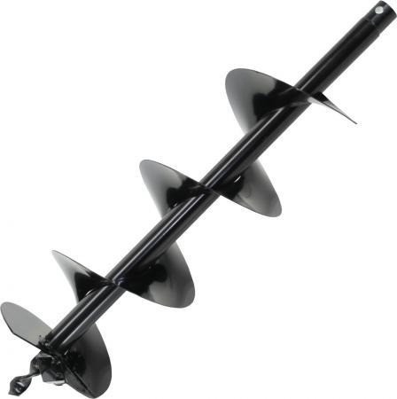Шнек однозаходный для грунта DDE мотобура (однозаходный, ф = 100 мм, L = 800 мм, посадка на вал 20 м