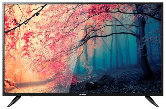 "Телевизор LED 55"" Harper 55U750TS черный 3840x2160 50 Гц Wi-Fi Smart TV RJ-45 цены онлайн"