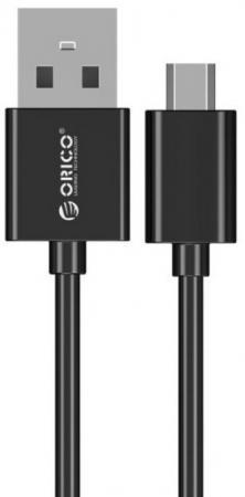 Кабель microUSB Orico ADC-05 круглый черный кабель microusb 1м orico круглый adc 10 v2 wh