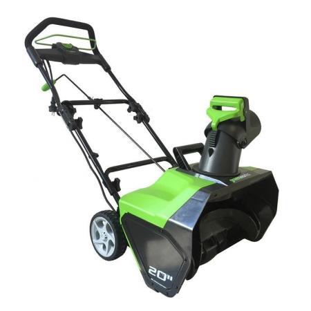 Купить Электрический снегоуборщик Greenworks 1800W