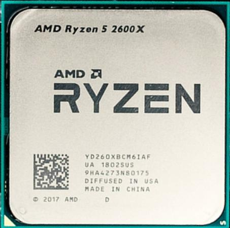 Процессор AMD Ryzen 5 2600X YD260XBCM6IAF Socket AM4 OEM free shipping 500pieces fuel injection corrugated rubber seals o ring size16 9 5 86mm for oem 23250 0c020 ay s4007