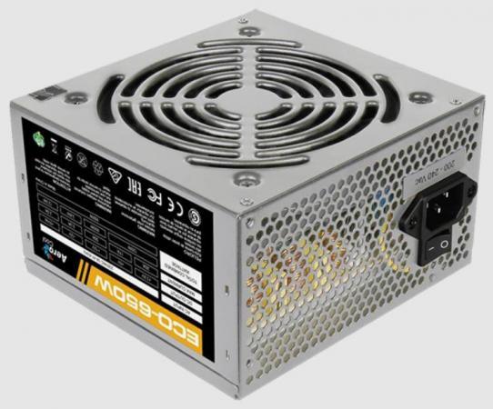 Блок питания ATX 650 Вт Aerocool ECO-650W