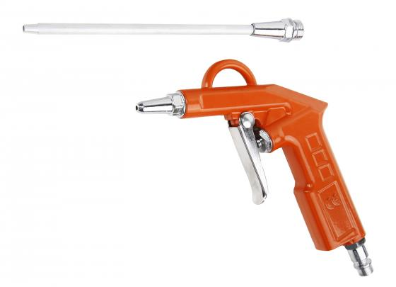 Пистолет продувочный WESTER BP-10 короткая+длинная 15см насадки пистолет для мовиля wester sp 10