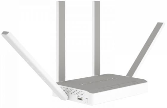 Беспроводной маршрутизатор Keenetic Extra KN-1710 802.11abgnac 1267Mbps 2.4 ГГц 5 ГГц 4xLAN USB серый цены онлайн