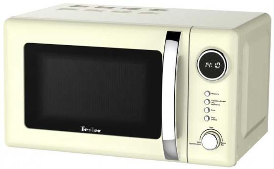 Микроволновая печь TESLER ME-2055 Beige 700 Вт бежевый цена и фото