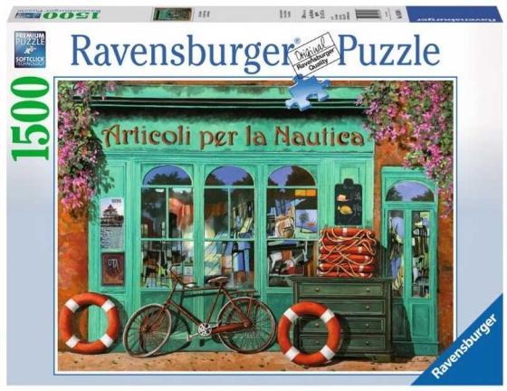 Пазл 1500 элементов Ravensburger Красный велосипед 16349
