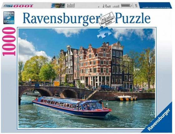 Пазл «Круиз по каналам Амстердама» 1000 шт ravensburger ravensburger пазл венеция 1000 шт