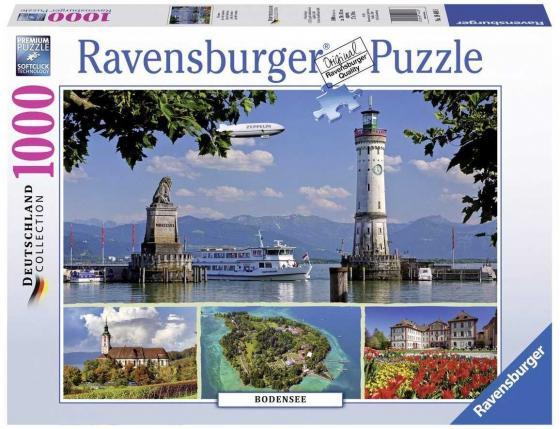 Пазл «Боденское озеро» 1000 шт пазл ravensburger озеро эйб 1000 элементов