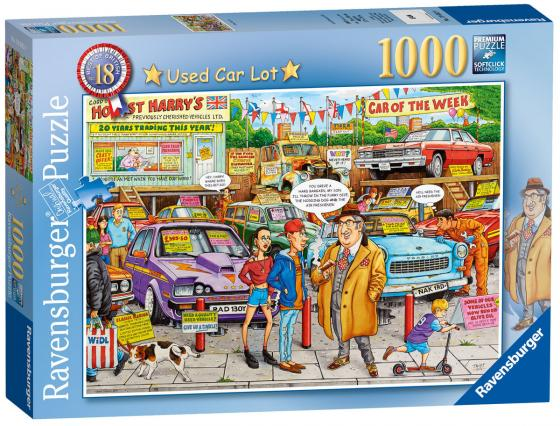 Пазл «Рынок подержанных авто» 1000 шт