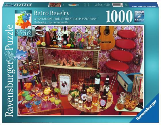 Пазл «Ретро вечеринка» 1000 шт ravensburger ravensburger пазл венеция 1000 шт